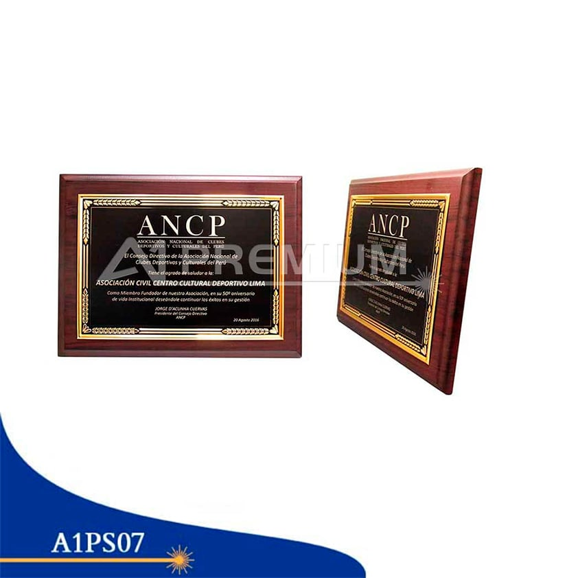 Placas Standar-A1PS07