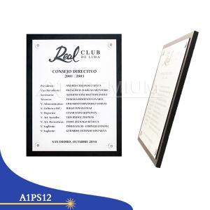 Placas Standar- A1PS13
